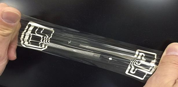 Panasonic Uzayıp Bükülebilen Saydam Elektronik Devre Gelişirdi