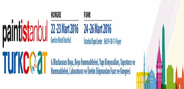 Türkiye ve Avrasya'nın Boya ve Kaplama Devleri PAINTISTANBUL & TURKCOAT 2016'da Bir Araya Geliyor