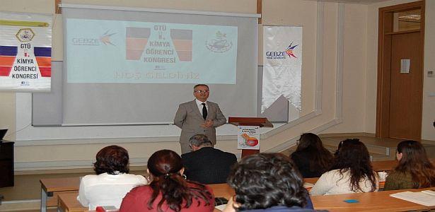 Gebze Teknik Üniversitesi Tarafından Kimya Öğrenci Kongresi Düzenlendi