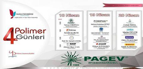 4. Polimer Günleri PAGEV ana sponsorluğunda Yalova'da gerçekleşti