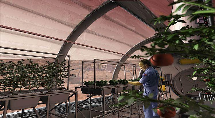 Uzay'da Bitkiler Yetiştirmek Mümkün Olabilir mi