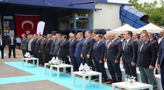"""Türkiye'nin İlk """"Atık Pil Geri Kazanım Tesisi"""" Kocaeli'de Açıldı"""