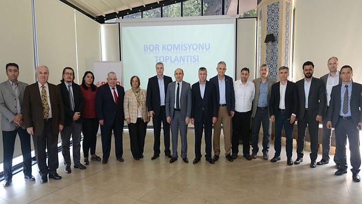 BTSO Bor Madenini Ekonomiye Kazandırmak İçin Çalışmalarını Sürdürüyor