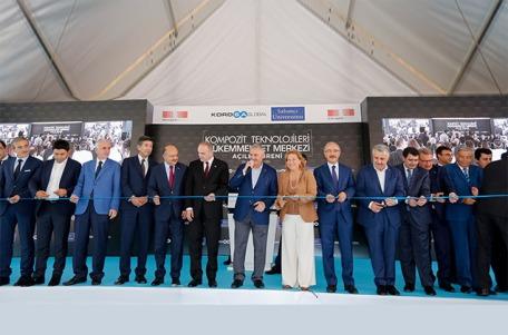 Kompozit Teknolojileri Mükemmeliyet Merkezinin Açılışı Yapıldı
