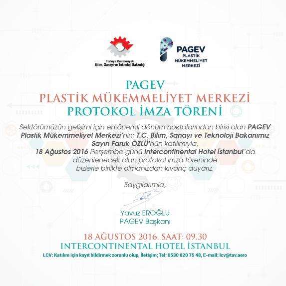 PAGEV Plastik Mükemmeliyet Merkezi İçin İmzalar Atılıyor