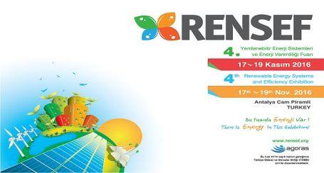 4. RENSEF Fuarı Güneş Enerji Santrali Yatırımcılarını Antalya'ya Davet Ediyor