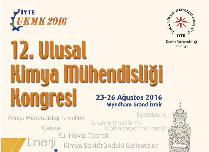 12. Ulusal Kimya Mühendisliği Kongresine Artık Sayılı Günler Kaldı